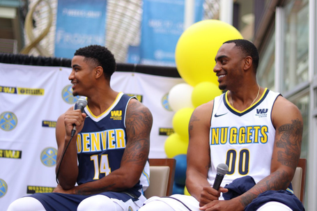 Denver Nuggets and Utah Jazz Release New Uniforms