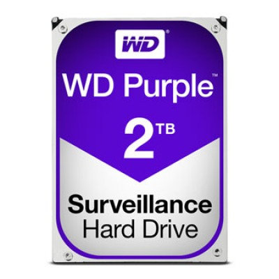 Disco Duro Interno Western Digital  Purple 3.5'', 2TB