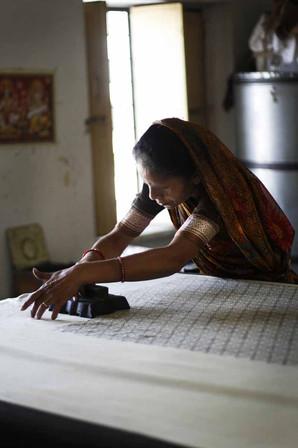 Rajasthan, textile workshop