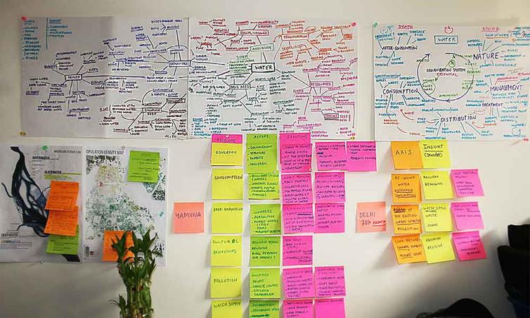 Newater Delhi, brainstorming