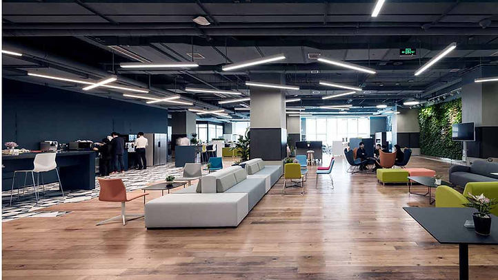 Coworking space, China