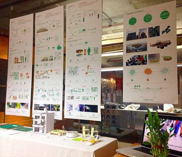 Newater Delhi, concept phase presentation