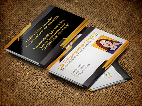 2 x 3.5 Extra Thick Business Cards