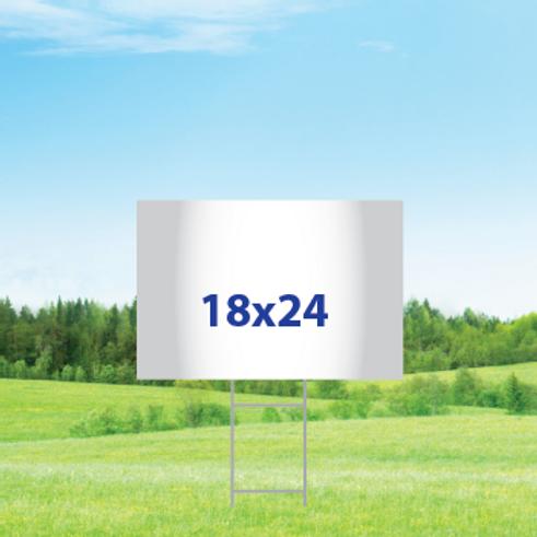 18 x 24 Yard Signs
