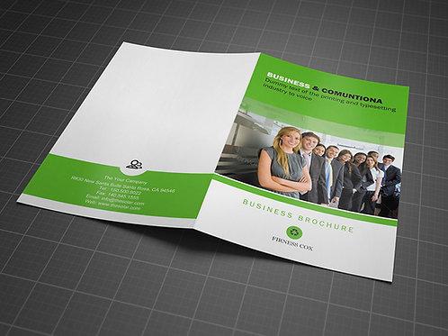 8.5 x 11 Single Sided Brochures