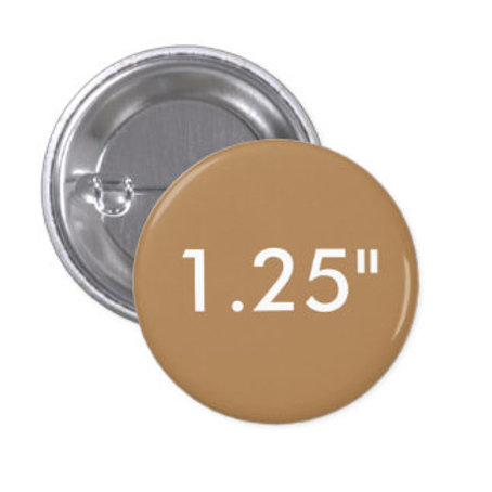 1.25 Inch Round Pin Buttons