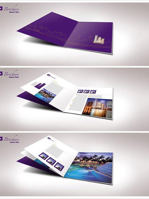 8.5 x 11 Bifold Brochures