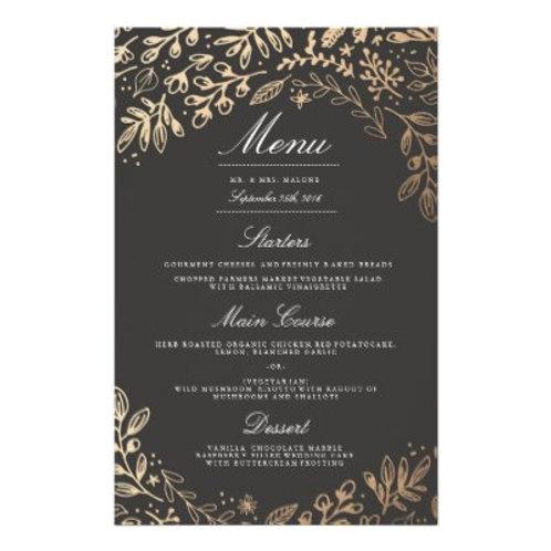 5.5 x 8.5 Dine-In Menus