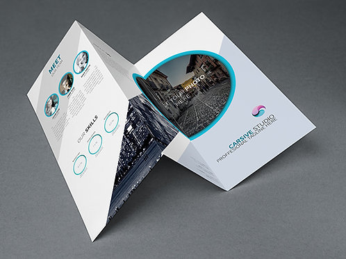 11 x 17 Trifold Brochures