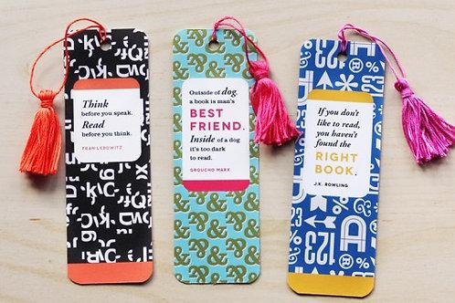 6 x 2 Bookmarks