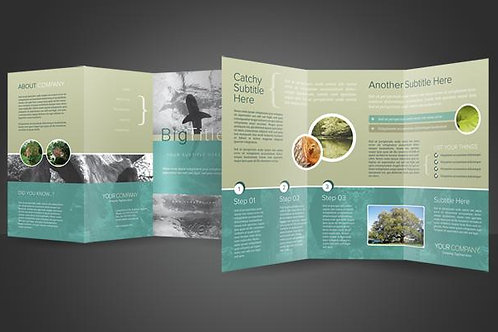 8.5 x 11 Double Sided Brochures