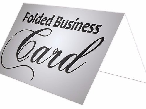 2 x 7 Fold Over Business Cards
