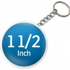 1.5 Inch Round Key Chain Pin Buttons