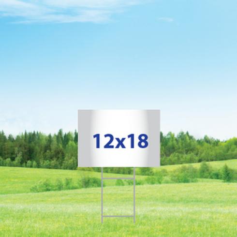 12 x 18 Yard Signs
