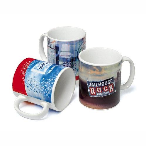 Full Colour White Mugs