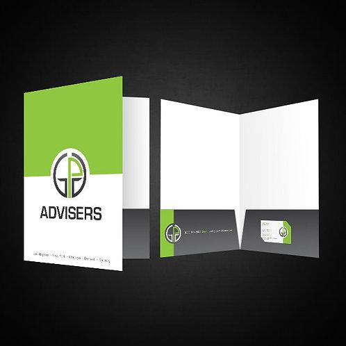 6 x 9 Mini Presentation Folder