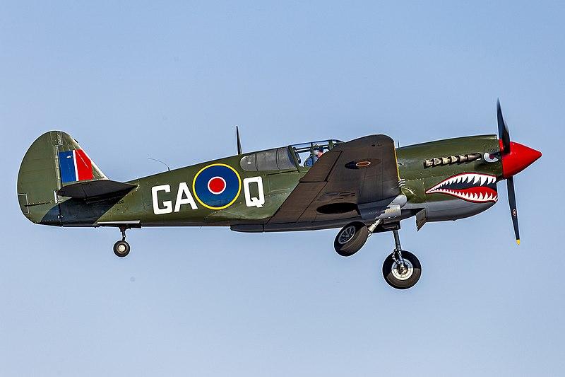 P 40 Kittyhawk