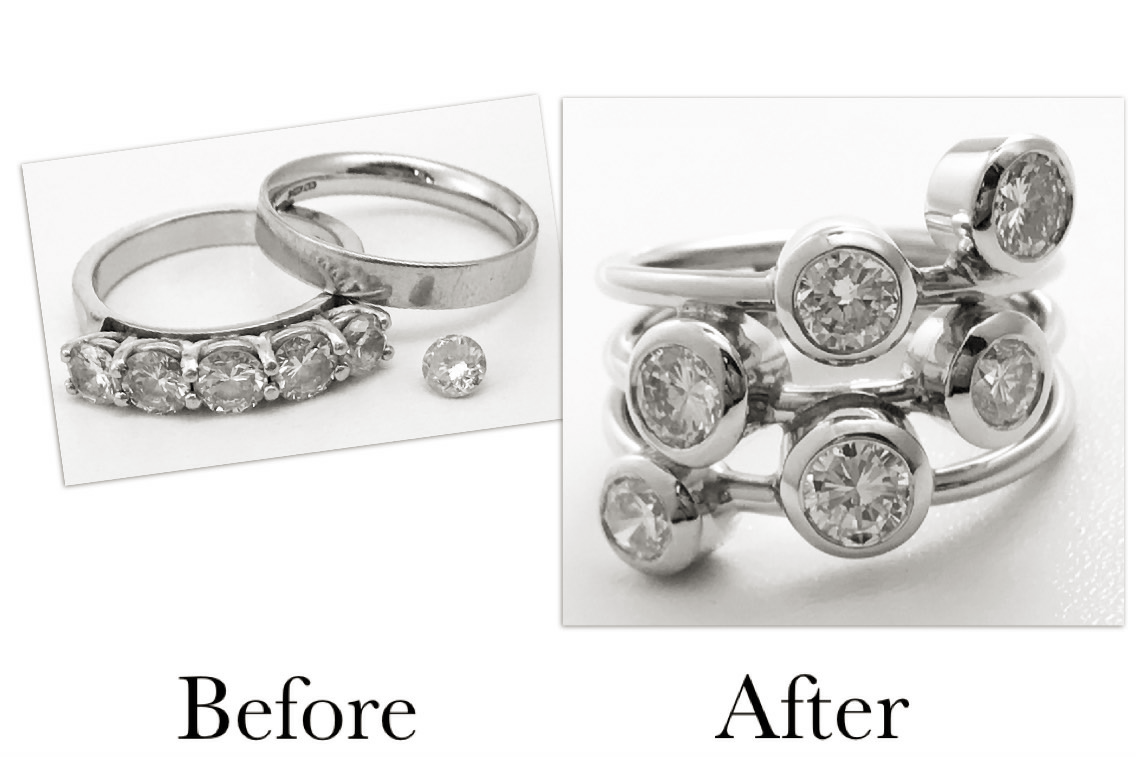 Diamond & Platinum Ring