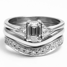 Shaped to fit rings.