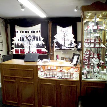 Martin Wilde Jewellers Inside Shop