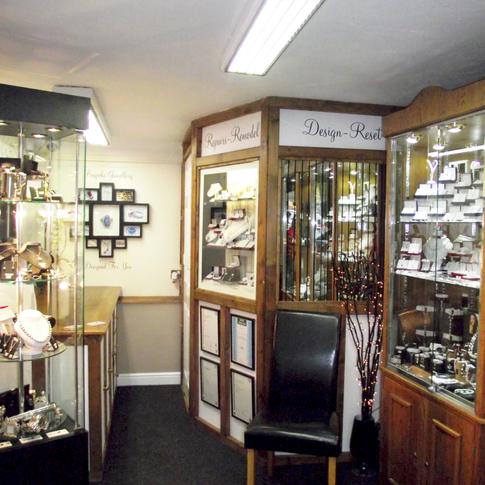 Martin Wilde Jewellers Shop Inside