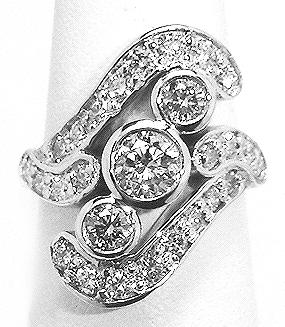 Diamond cad ring