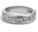 Jewellery Commission. Diamond and palladium band ring. Cad cam designed and hand set. Bespoke band.