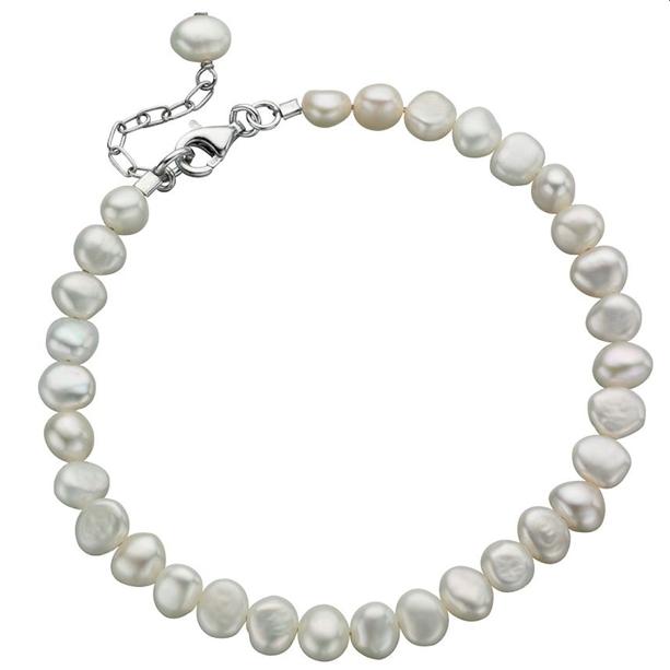 "Fresh Water Pearl Bracelet 7 1/2 - 8 3/4"""
