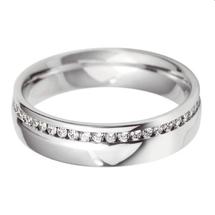 Diamond set wedding bands.