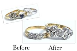 Two Tone Diamond Rings