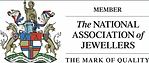 We are a member of the National Association of Jewellers