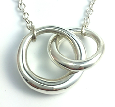 Jewellery Commission. Testimonial page. Silver handmade pendant. Handmade from sentimental silver jewellery.