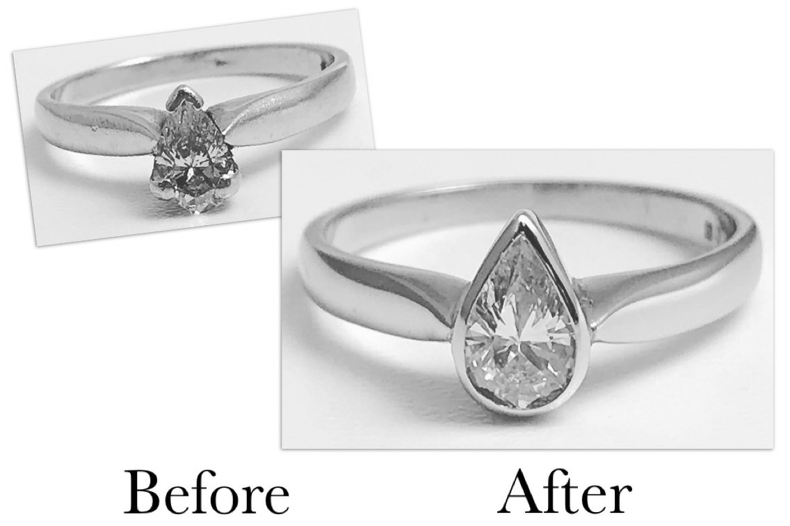Pear Shape Setting Change