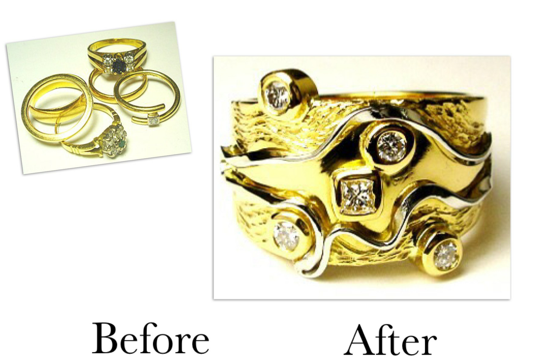 Gold & Platinum Diamond Creation