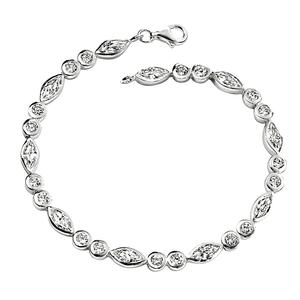 "Sparkle Tennis Bracelet 7 1/2"""