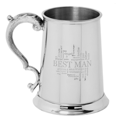 Tankard for the Best Man