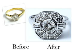 Lots Of Sparkle In One Ring Design