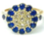 Jewellery Commission. Testimonial page. Reset sentimental gemstones. Cad designed ring mount. Bespoke ring design.