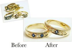 Sapphire & Diamond Bands