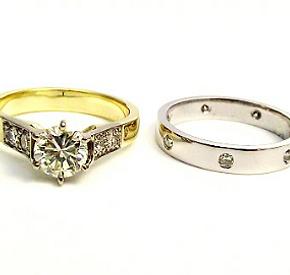 Jewellery Commission. Jewellery redesign. One off handmade ring designs. Diamond set jewellery.