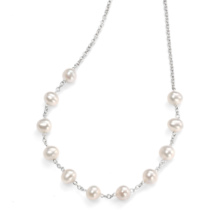 """Fresh Water Pearl Necklace 15 3/4 -17 3/4"""""""