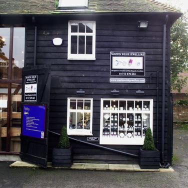 Martin Wilde Jewellers Shop Front