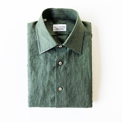 THE TBco. RESERVE FRESCO LINEN DRESS SHIRT