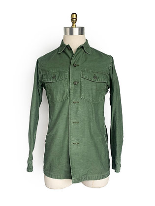 ORLSOW MADE IN JAPAN GREEN COTTON FATIGUE