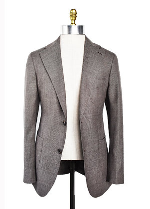OPEN WEAVE LIGHT WOOL BLAZER