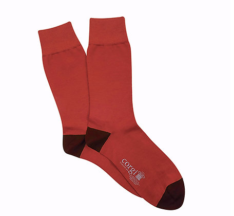 CORGI Cotton Blend socks made in Wales UK