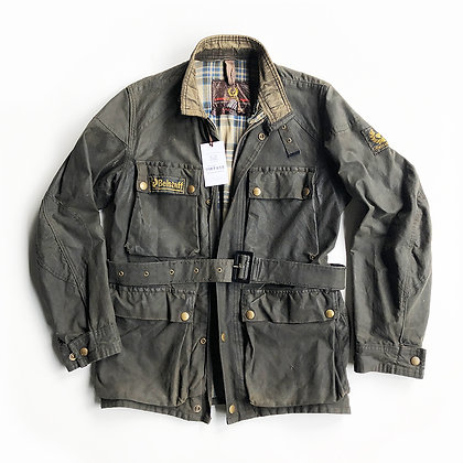 ORIGINAL VINTAGE 70s ERA BELSTAFF ROAD MASTER II WAX CANVAS FIELD JACKET