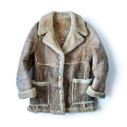 ORIGINAL VINTAGE SHEARLING COAT