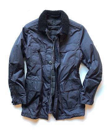 TOM FORD Black Satin Silk Field Jacket