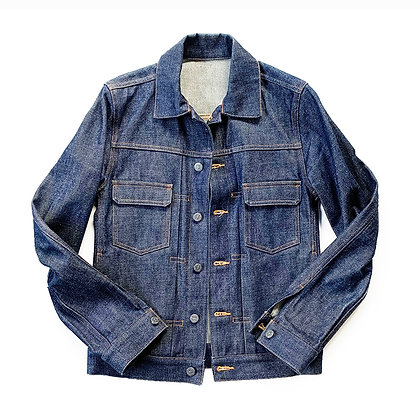 APC RAW SELVEDGE DENIM TRUCKER JACKET